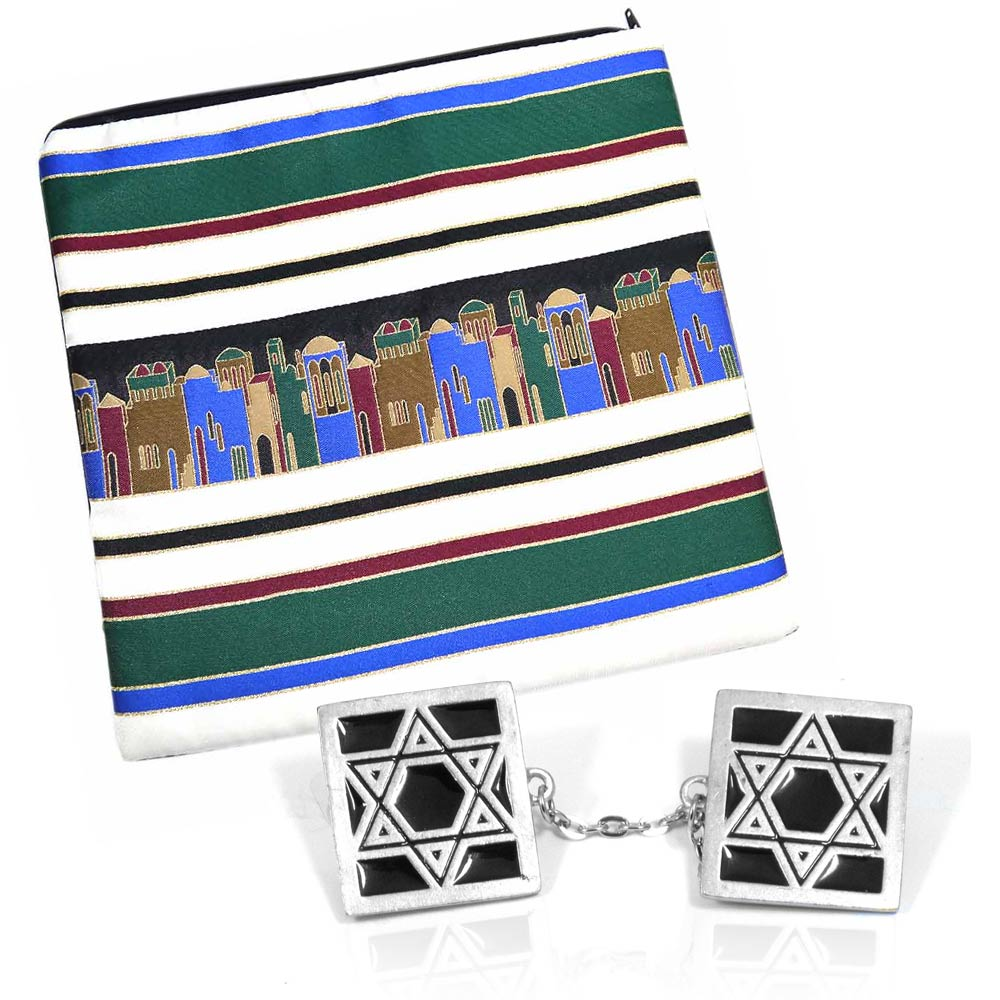 Talis Bags and Tallit Clips