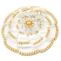 gold-and-silver-beaded-ladys-head-covering-JW-D35