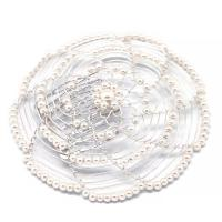 ivory-and-silver-beaded-ladys-head-covering-JW-D25